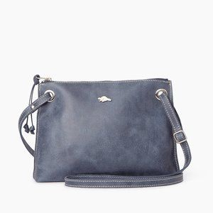 Roots EDIE Leather Crossbody Purse